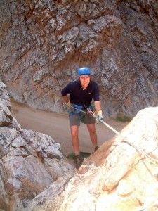 Abseiling 54m Orange River  tour